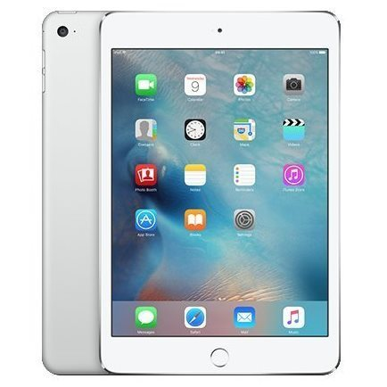 Apple iPad Mini 4, Cellular, 128GB, Silver