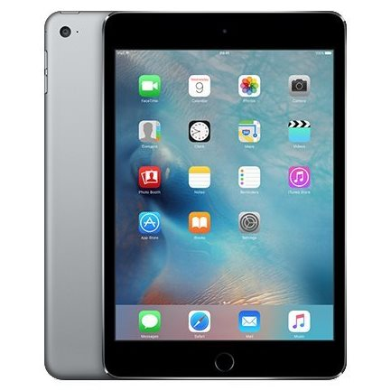 Apple iPad Mini 4, Cellular, 128GB, Space Grey
