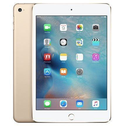Apple iPad Mini 4, Cellular, 16GB, Gold