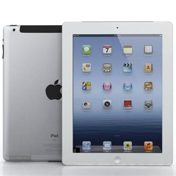 Apple iPad Retina 128GB, Wi-Fi + 4G - Cellular, White