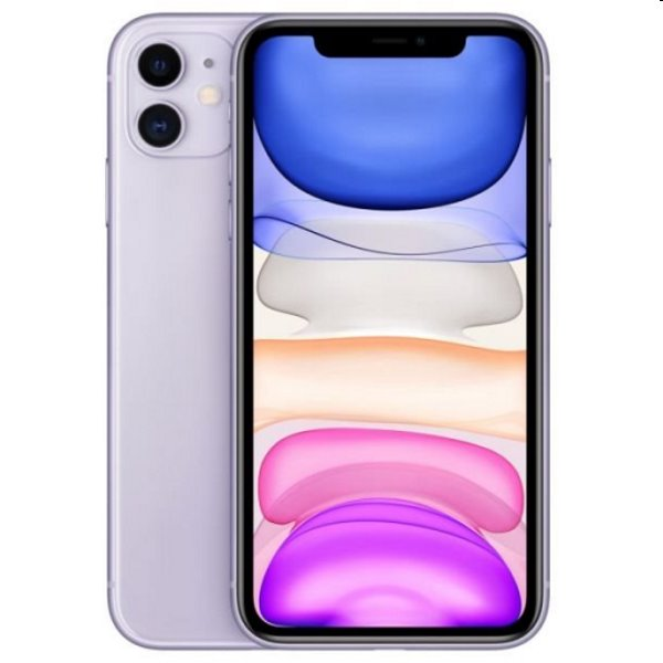 iPhone 11, 128GB, purple