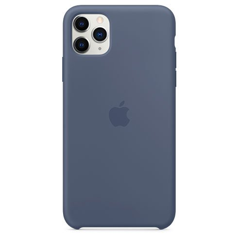 Apple iPhone 11 Pro Max Silicone Case - Alaskan Blue