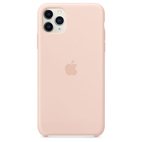Apple iPhone 11 Pro Max Silicone Case, pink sand MWYY2ZM/A