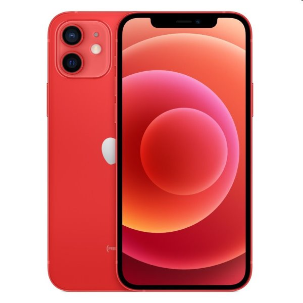 iPhone 12, 64GB, red