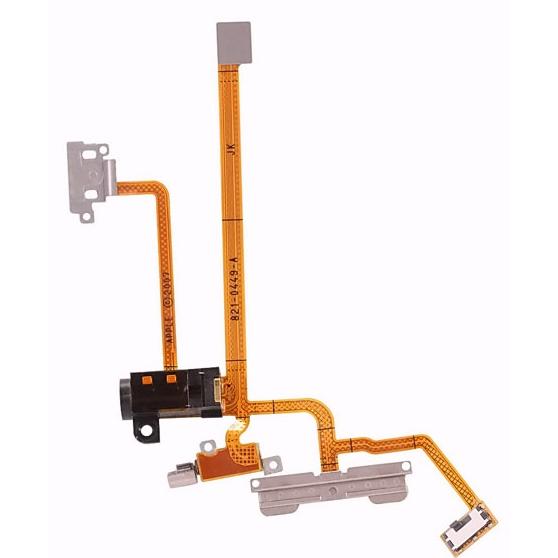 Apple iPhone 2G - audio jack + spínače bočných tlačidiel + vibračný motorček