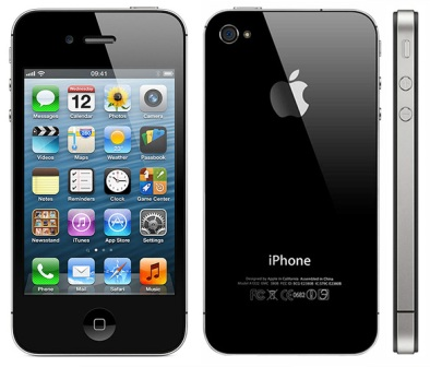Apple iPhone 4S, 16GB | Black, Trieda B - pou�it�, z�ruka 12 mesiacov