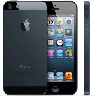 Apple iPhone 5, 16GB | Black, Trieda B - pou�it�, z�ruka 12 mesiacov