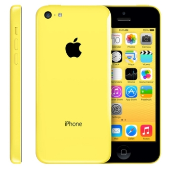 Apple iPhone 5C, 32GB | Yellow, Trieda C - pou�it�, z�ruka 12 mesiacov