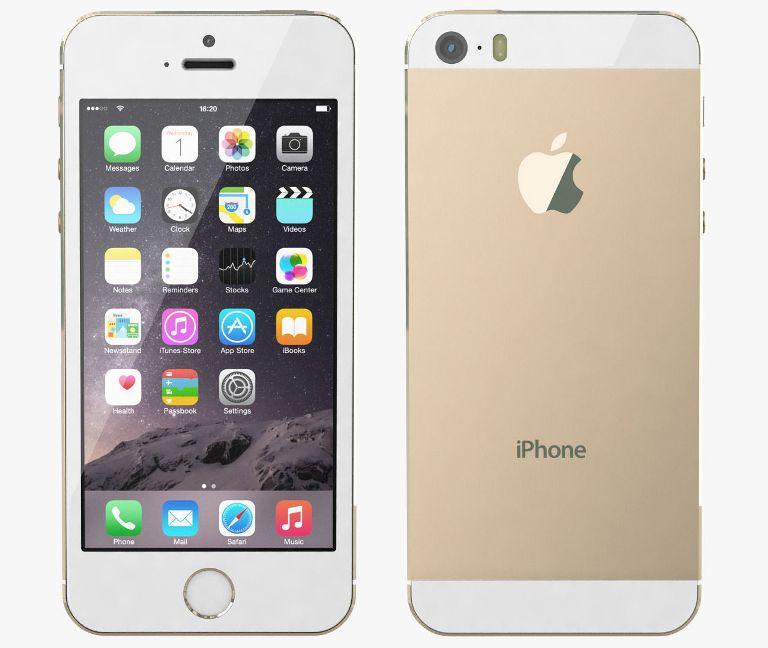 Apple iPhone 5S, 16GB | Gold, Trieda A - použité, záruka 12 mesiacov
