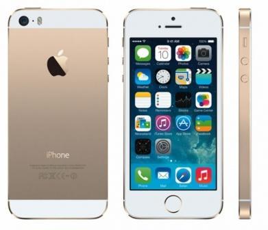 Apple iPhone 5S, 16GB   Gold, Trieda C - použité, záruka 12 mesiacov