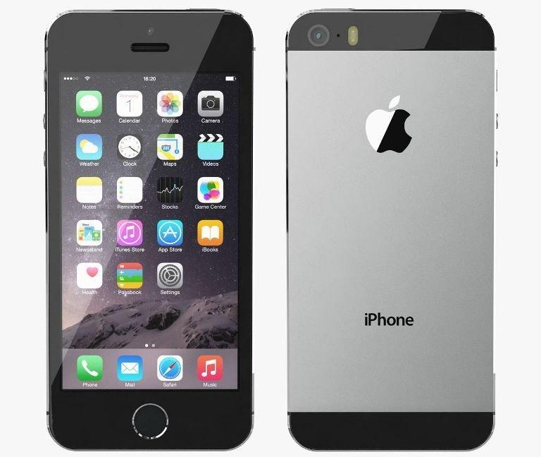 Apple iPhone 5S, 16GB | Gray, Trieda C - použité, záruka 12 mesiacov
