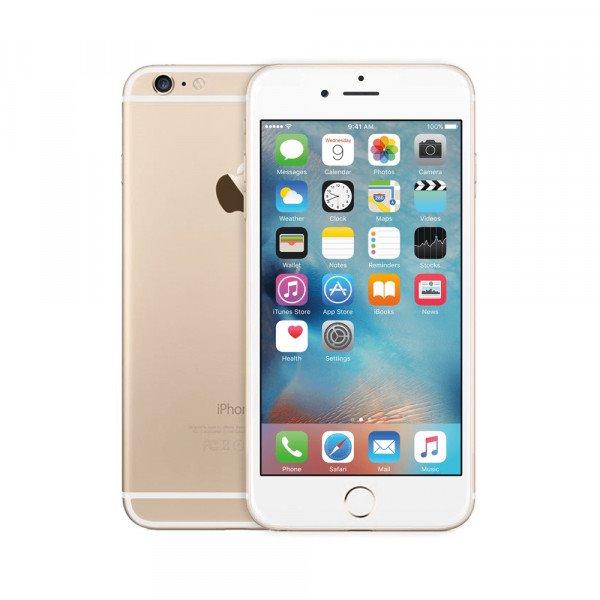 Apple iPhone 6, 128GB | Gold, Trieda A+ - použité, záruka 12 mesiacov