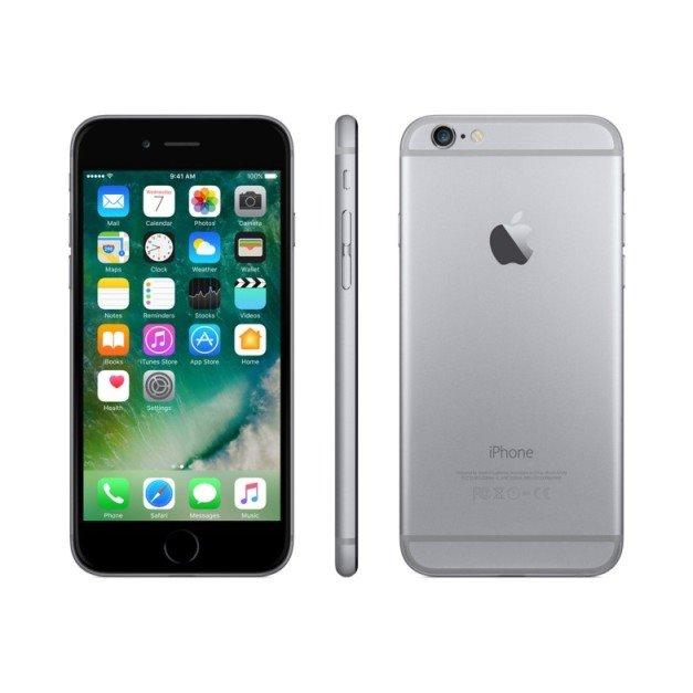 Apple iPhone 6, 16GB | NEFUNGUJE TOUCH ID | Space Gray, Trieda C - použité, záruka 12 mesiacov
