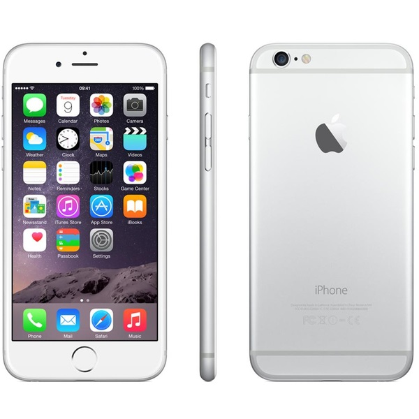 Apple iPhone 6 Plus, 64GB | Silver