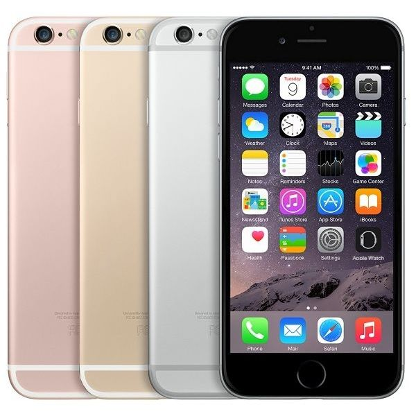 Apple iPhone 6S, 128GB | Gold