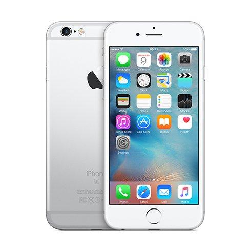 Apple iPhone 6S, 16GB   Silver, Trieda B - použité, záruka 12 mesiacov
