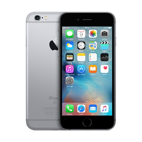Apple iPhone 6S, 16GB | Space Gray, Trieda A - pou�it�, z�ruka 12 mesiacov