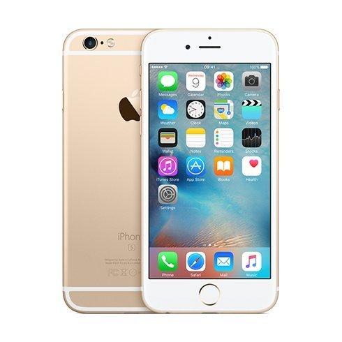 Apple iPhone 6S, 64GB | NEFUNGUJE TOUCH ID | Gold, Trieda A - použité, záruka 12 mesiacov