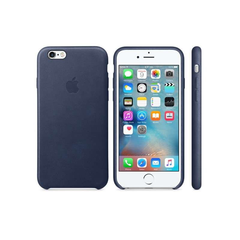 Apple iPhone 6S Kožené puzdro (Midnight Blue) MKXU2ZM/A