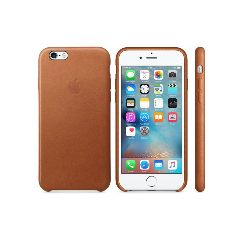 Apple iPhone 6S Kožené puzdro (Saddle Brown) MKXT2ZM/A