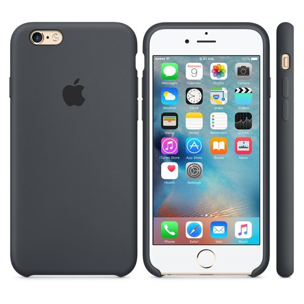 Apple iPhone 6S Silikónové puzdro (Charcoal Gray) MKY02ZM/A