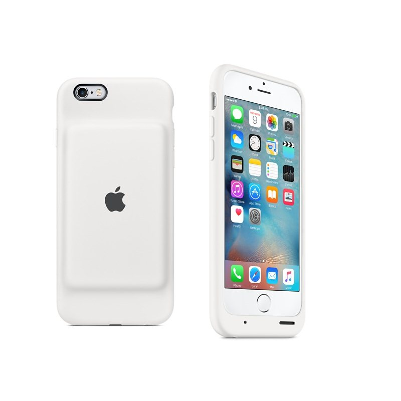Apple iPhone 6S Smart Battery puzdro (White) MGQM2ZM A- 22d53375594