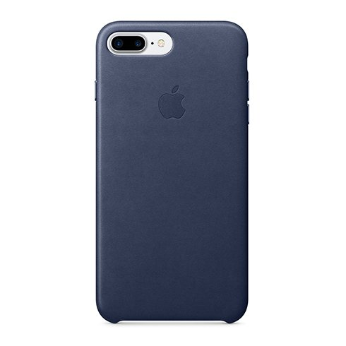 Apple iPhone 7 / 8 Plus Leather Case - Midnight Blue
