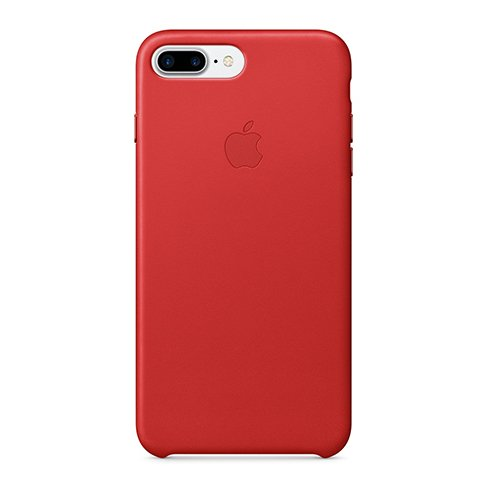 Apple iPhone 7 / 8 Plus Leather Case - Red