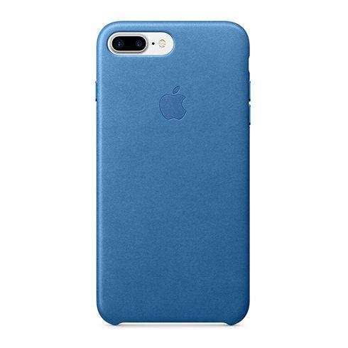 Apple iPhone 7 / 8 Plus Leather Case - Sea Blue
