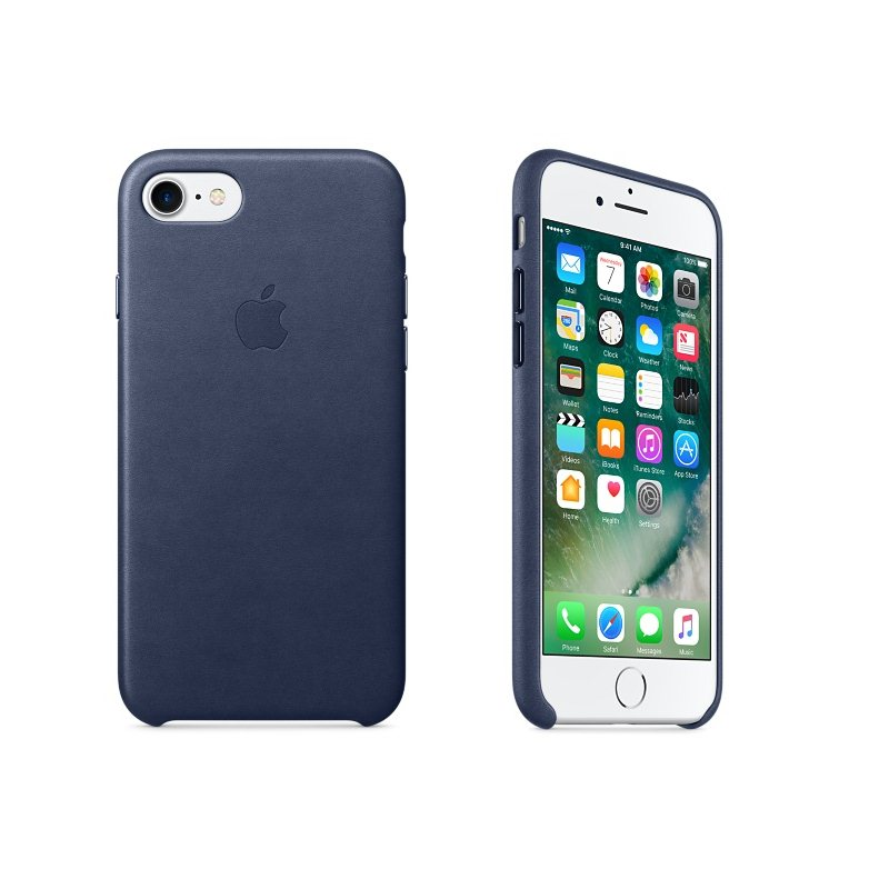 Apple iPhone 7 Kožené puzdro (Midnight Blue) MMY32ZM/A