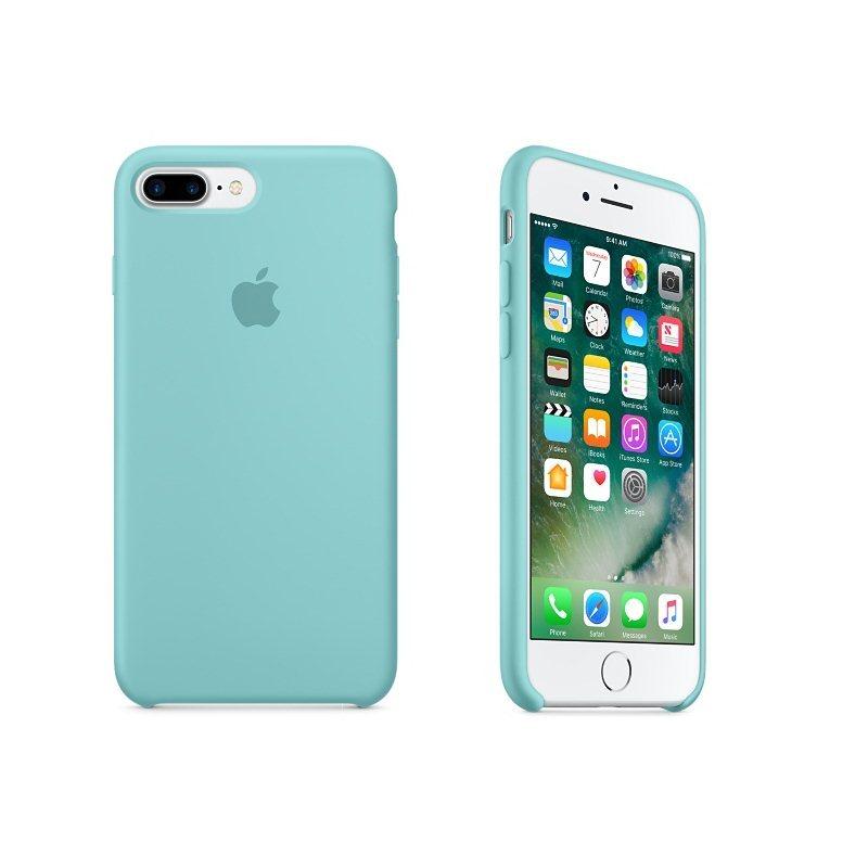 Apple iPhone 7 Plus a iPhone 8 Plus Silikónové puzdro (Sea Blue) MMQY2ZM A 0f36f2d824a