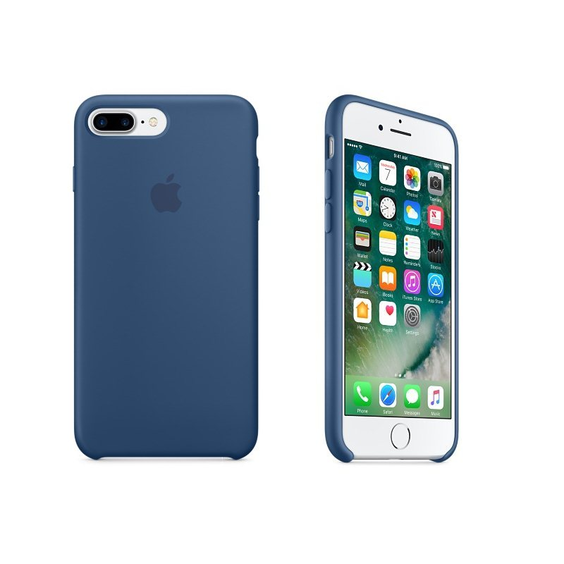 Apple iPhone 7 Plus Silikónové puzdro (Ocean Blue) MMQX2ZM/A