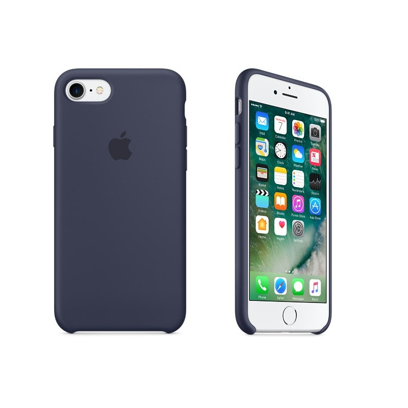 Apple iPhone 7 Silik�nov� puzdro (Midnight Blue) MMWK2ZM/A