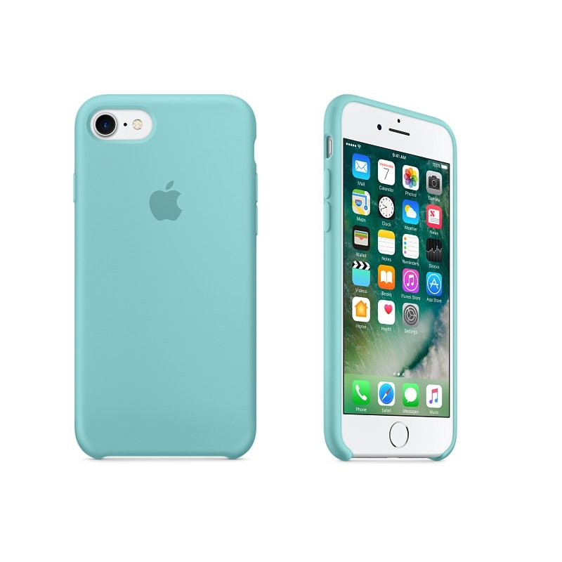 Apple iPhone 7 Silikónové puzdro (Sea Blue) MMX02ZM/A