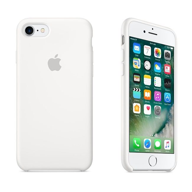 Apple iPhone 7 Silik�nov� puzdro (White) MMWF2ZM/A