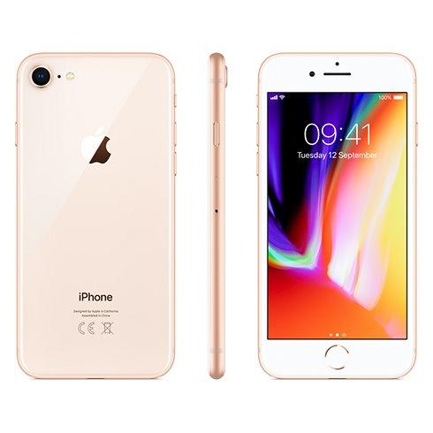 Apple iPhone 8, 64GB   Gold, Trieda B - použité, záruka 12 mesiacov