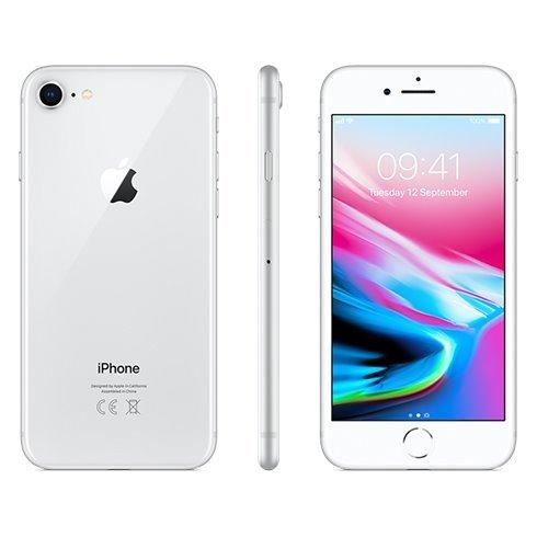Apple iPhone 8, 64GB | Silver, Trieda B - použité, záruka 12 mesiacov