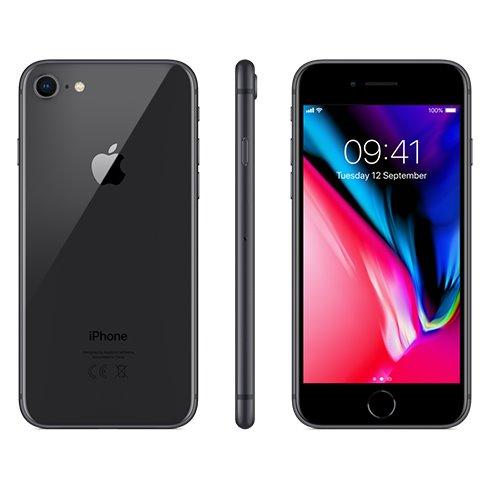 Apple iPhone 8, 64GB | Space Gray, Trieda C - použité, záruka 12 mesiacov