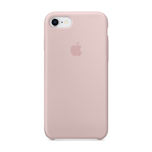 Apple iPhone 8 / 7 Silicone Case - Pink Sand MQGQ2ZM/A