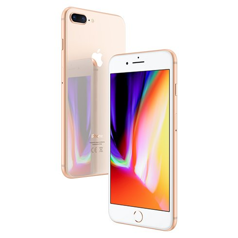 Apple iPhone 8 Plus, 64GB | Gold, Trieda B - použité, záruka 12 mesiacov