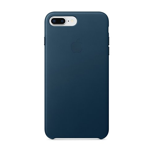 Apple iPhone 8 Plus / 7 Plus Leather Case - Cosmos Blue MQHR2ZM/A