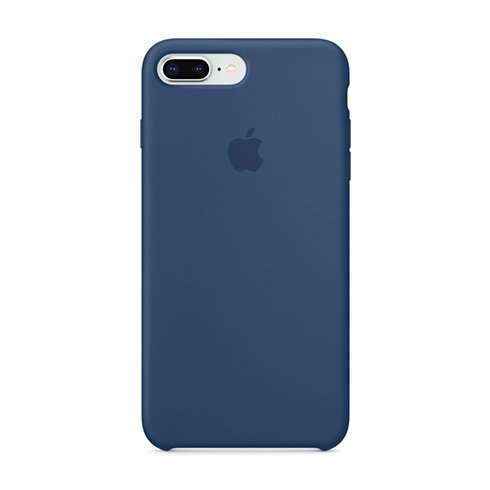 Apple iPhone 8 Plus / 7 Plus Silicone Case - Blue Cobalt