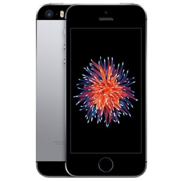Apple iPhone SE, 16GB | Space Gray, Trieda A - použité, záruka 12 mesiacov