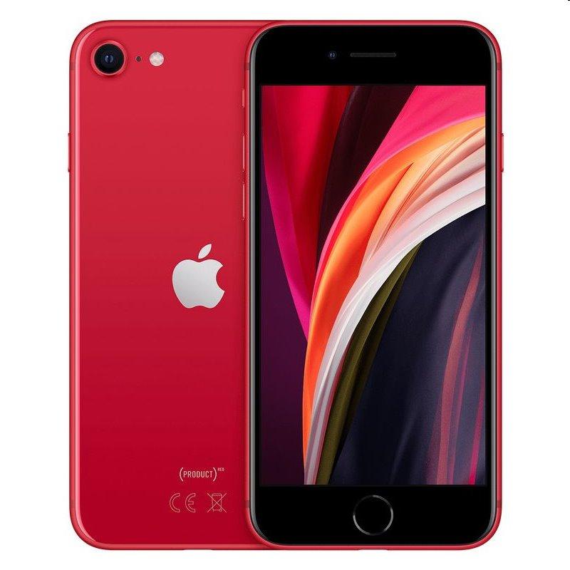 iPhone SE (2020), 128GB, red