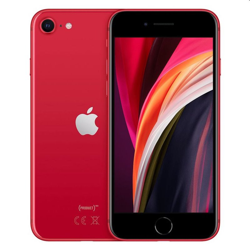 iPhone SE (2020), 64GB, red