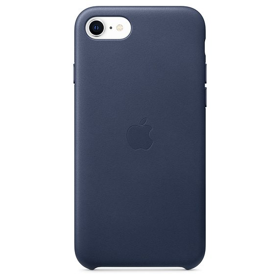 Apple iPhone SE Leather Case - Midnight Blue MXYN2ZM/A