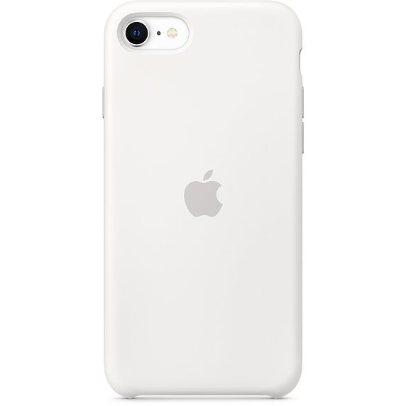 Apple iPhone SE Silicone Case - White