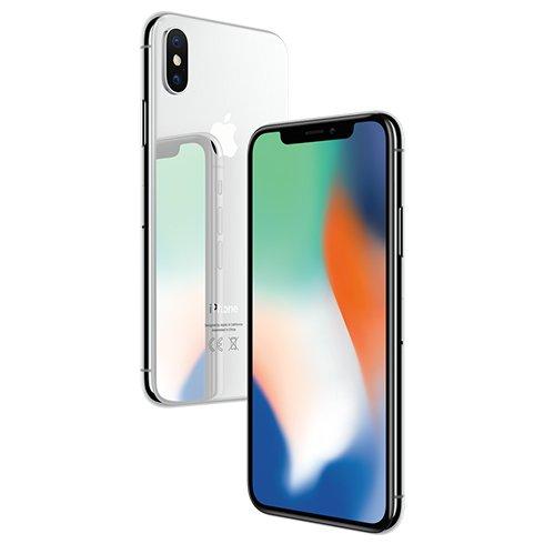 Apple iPhone X, 64GB | Silver, Trieda C - použité, záruka 12 mesiacov