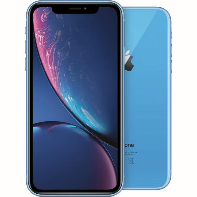 iPhone XR, 128GB, blue