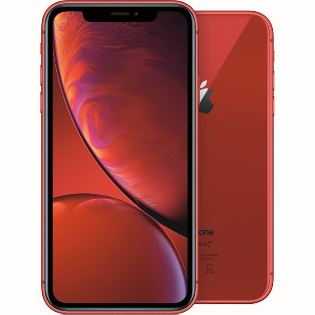 iPhone XR, 128GB, red